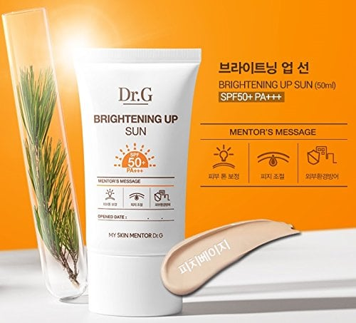 Review kem chống nắng Dr.G Brightening Up Sun SPF 50 PA+++